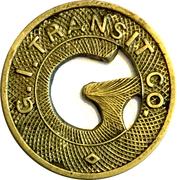 1 Fare - G.I.Transit Co. (Grand Island, NE) – obverse