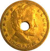1 City Fare - The Lincoln Traction Co. (Lincoln, NE) – reverse