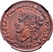 Cent - Hard Times Token - Bentonian Currency (Mint Drop) – obverse