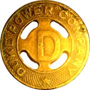 1 Fare - Duke Power Company (Durham, NC) – obverse