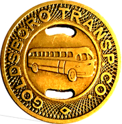 1 Fare - Goldsboro Transportation Co. (Goldsboro, NC) – obverse