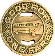 1 Fare - Goldsboro Transportation Co. (Goldsboro, NC) – reverse