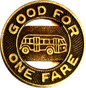 1 Fare - City Bus Lines, Inc. (Hickory, NC) – reverse