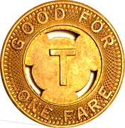 1 Fare - Twin City Lines Inc. (Winston-Salem, NC) – reverse
