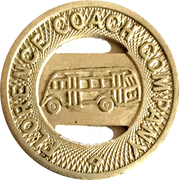 1 Fare - Florence Coach Company (Florence, SC) – obverse