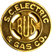 1 Bus Fare - S.C. Electric & Gas Co. (Columbia, SC) – obverse