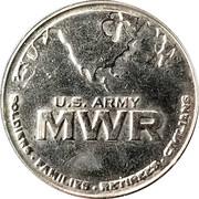 Token - U.S. Army MWR – obverse