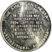 Token - Ulysses S. Grant – reverse