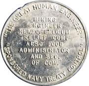 Token - Herbert C. Hoover – reverse