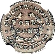 1 Cent (L. Feuchtwanger) – reverse