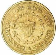 Cent - Civil War Merchant Token - R.T. Kelly (Overstruck on 1859 Indian Cent) – reverse