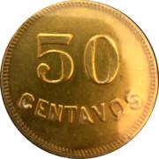 50 Centavos - Finca La Reforma Plantation Token – reverse