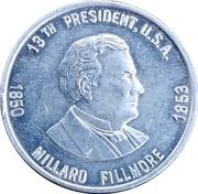 Token - Millard Fillmore (13th President) – obverse
