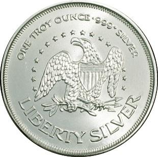 1 Oz Silver A Mark Liberty Silver Tokens Numista