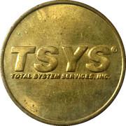 Token - TSYS – obverse