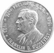 Token - Franklin D. Roosevelt – obverse
