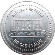 1 Free Game Token - Marvel Adventure City – obverse