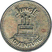 Token - Amusement Center Jungle Adventure – obverse