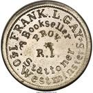 Civil War Token - Wapakoneta Ohio, Sanitary Fair – obverse