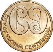 Token - Tacoma Centennial – obverse