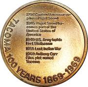 Token - Tacoma Centennial – reverse