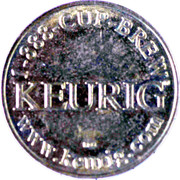 Token - Keurig Coffee House Taste – obverse