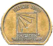"Hazelden ""Meeting Time"" – obverse"