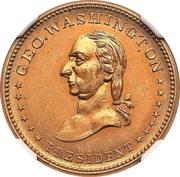 Civil War Merchant Token - T. Brimelow Druggist (New York, NY) – obverse