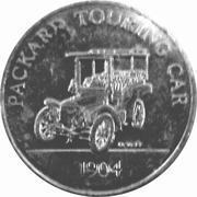 Sunoco Antique Car Coin - Series 2 (Packard touring car) – obverse