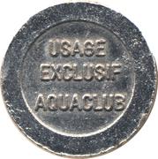 Token - Aquaclub – obverse