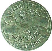 Token - Distributeurs Automatiques (Paris) – obverse