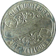 Token - Distributeurs Automatiques (Paris) – reverse