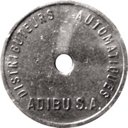 Vending Machine Token - Adibu – obverse