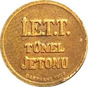 Token - İ.E.T.T. Tünel (Istanbul; 16 mm) – reverse