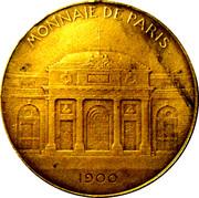 Token - Monnaie de Paris - Exposition de 1900 – reverse