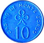 10 Escudos - Casino de Monte Gordo – obverse
