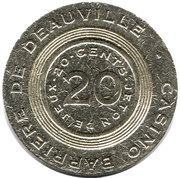 20 Cents - Casino Barriere (Deauville) – obverse