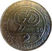 2 Francs (Groupe Partouche) – obverse