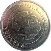 1 Euro - Casino Emeraude (Bagnoles-de-l'Orne) – reverse