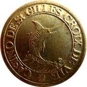 2 Francs - Casino de Saint Gilles Croix de Vie – reverse