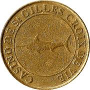 20 Cents - Casino de Saint Gilles Croix de Vie – obverse