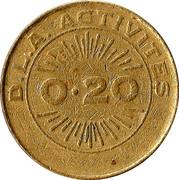 20 Cents - Casino de Saint Gilles Croix de Vie – reverse