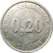 20 Cents - Casino Luc-Sur-Mer – obverse