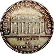 Token - Chamber of Commerce Nantes  – reverse