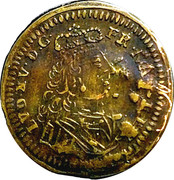 Counter Token - Louis XV (Nuremberg) – obverse