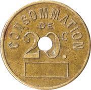 20 Centimes - L'Inédit – reverse