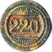 20 Centimes - A Consommer (220) – obverse