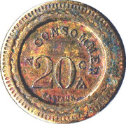 20 Centimes - A Consommer (220) – reverse