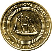 25 Cents - Casino Nova Scotia (Halifax) – obverse