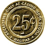 25 Cents - Casino Nova Scotia (Halifax) – reverse